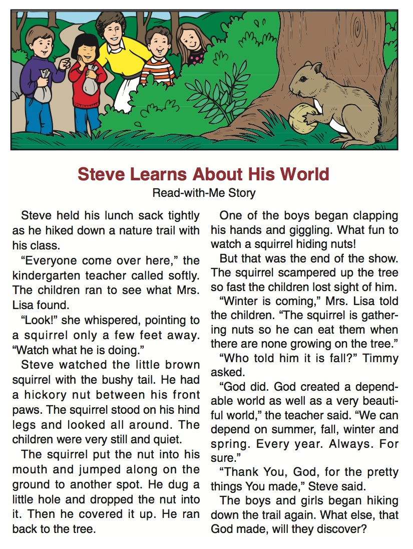 Steve & Squirrel | Bible Stories